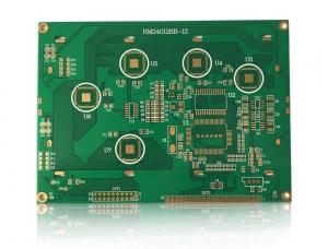 2层沉金LCD电路板