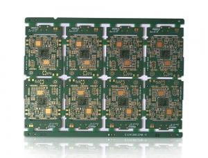 8层2阶智能手表电路板